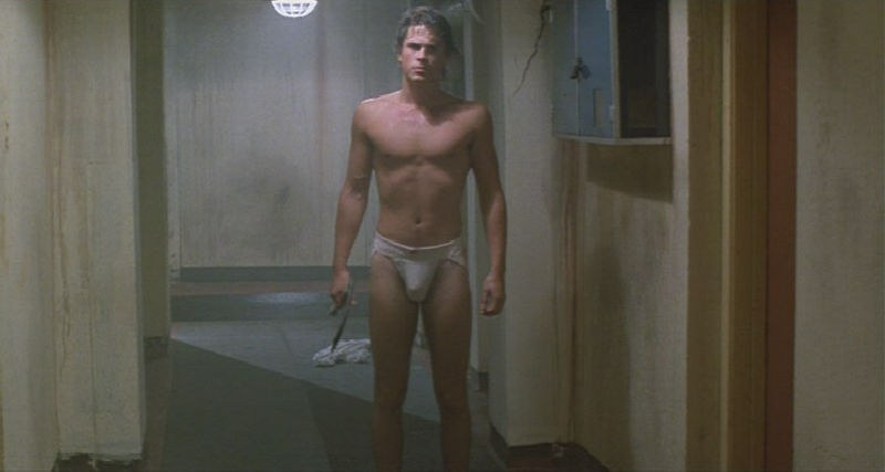 Shirtless rob lowe