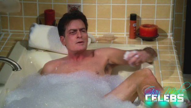 charley sheen naked
