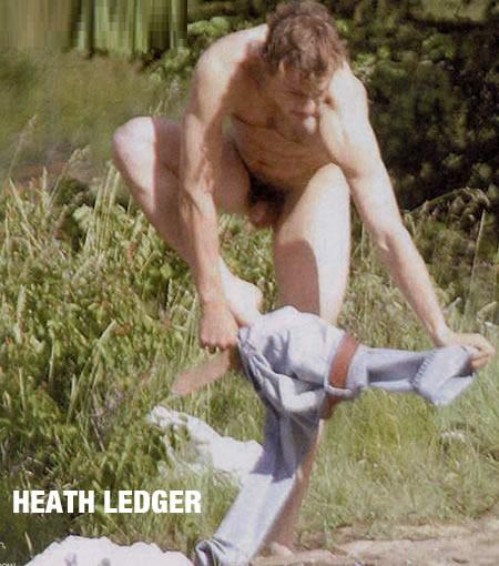 Apologise, Heath ledger naked with