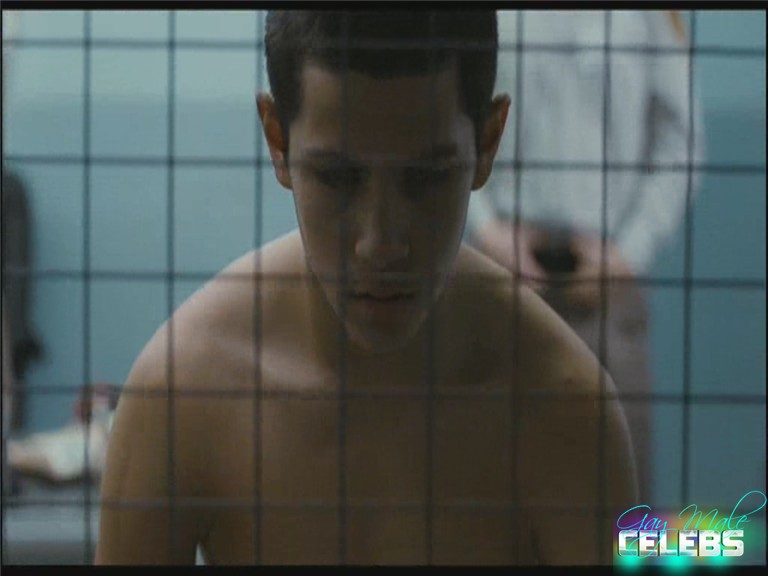 Mateo Morales, Shane Kippel and Adam Butcher naked in Dog Pound