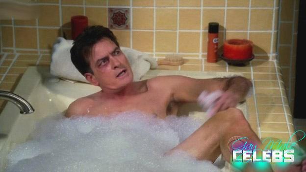 Charlie sheen naked