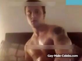 Male stars jack off video