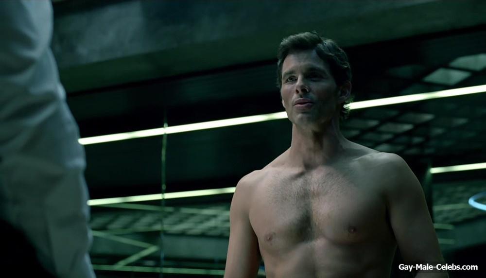 Top Transexual James Marsden Hot Naked
